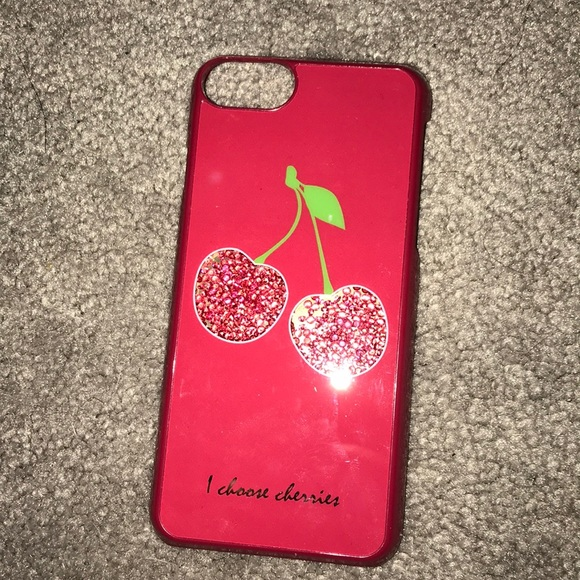 official photos d124e 2c8c5 cherry shakeable iPhone 7 case NWT